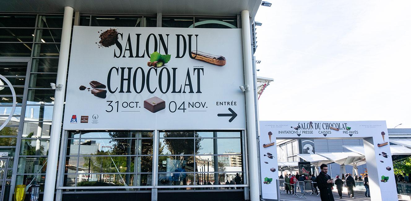 パリのサロン・デュ・ショコラ 2018 ルポ Vol.1