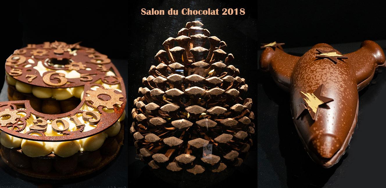 パリのサロン・デュ・ショコラ 2018 ルポ Vol.3