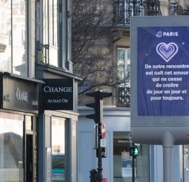 💌パリ市が募集したバレンタイン・愛のメッセージ 2019