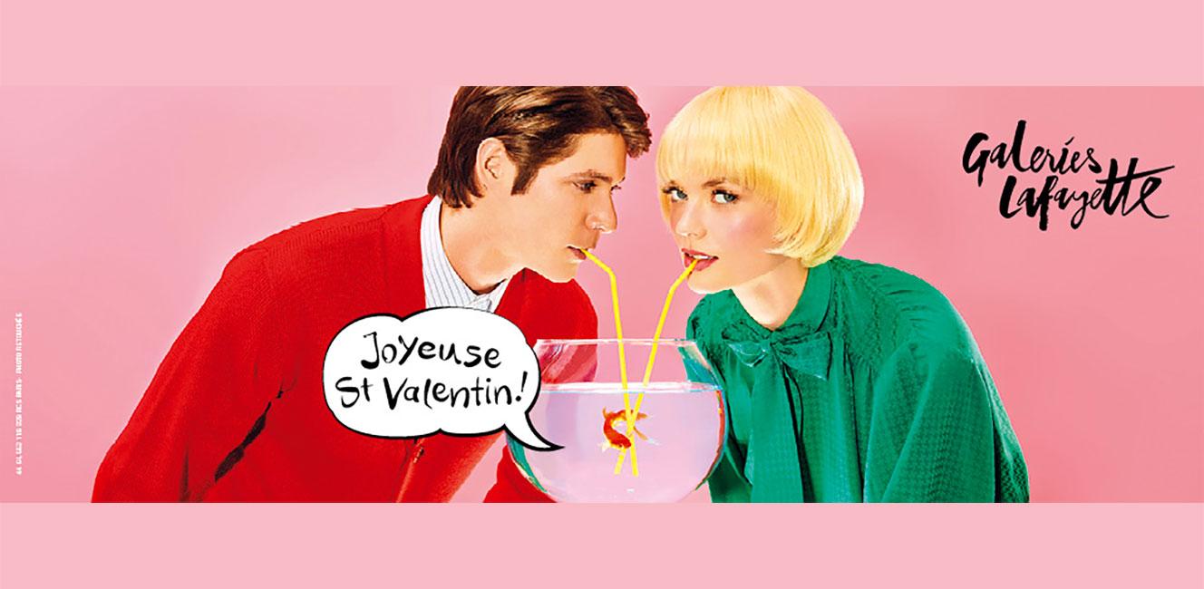 ギャラリー・ラファイエットの2019年バレンタイン
