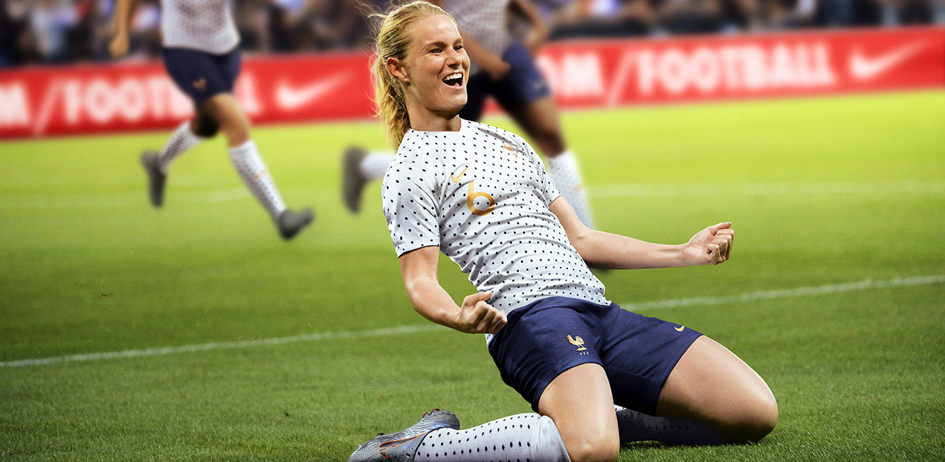 サッカー女子フランス代表の新ユニフォームに注目!