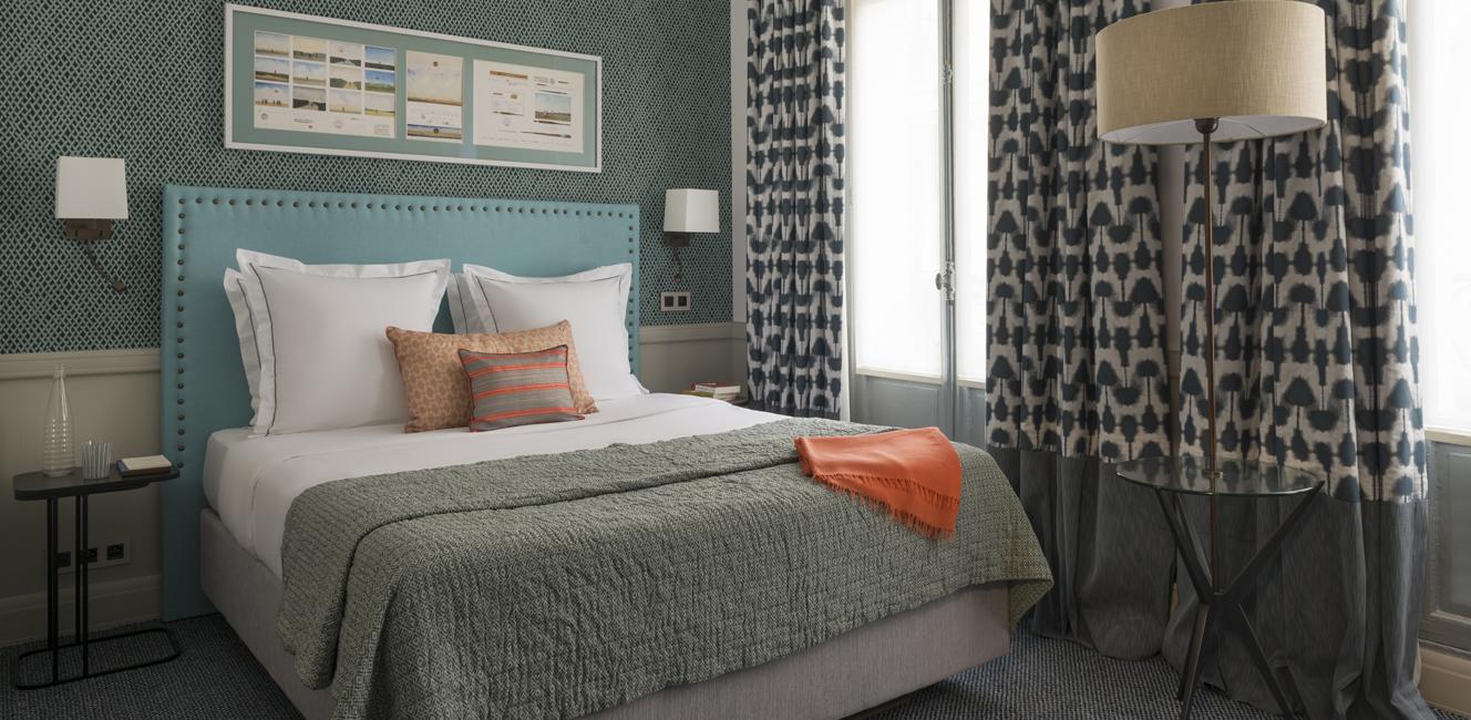 モダン・クラシックな内装に魅せられる…パリ流インテリアの新しい潮流を感じさせるホテル