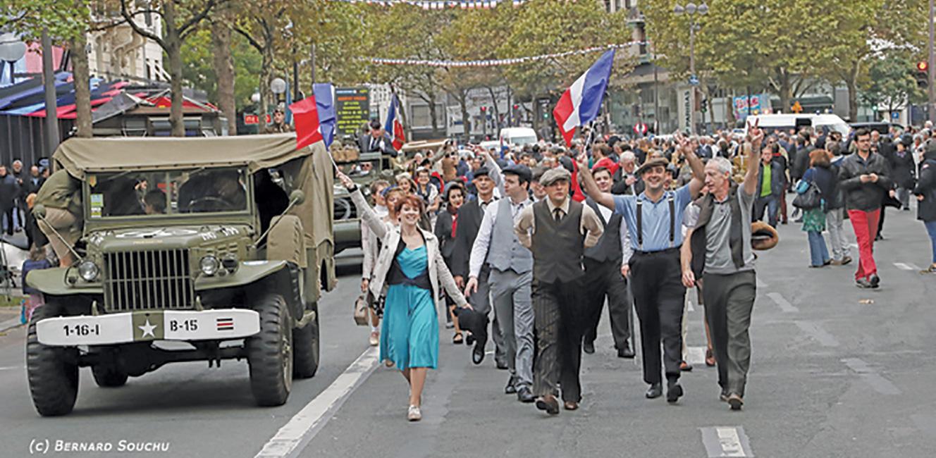 パリ解放75周年記念「自由の行進」🇫🇷